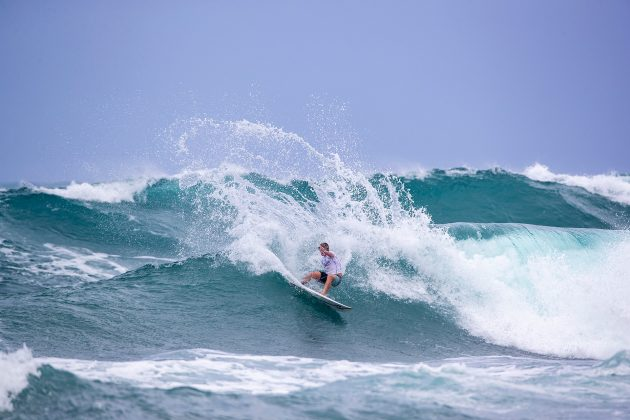 Finn McGill, Hawaiian Pro 2019, Haleiwa, North Shore de Oahu, Havaí. Foto: WSL / Heff.