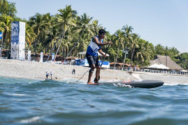 Erick Romeo, ISA SUP & Paddleboard 2019, El Sunzal, El Salvador. Foto: ISA / Ben Reed.