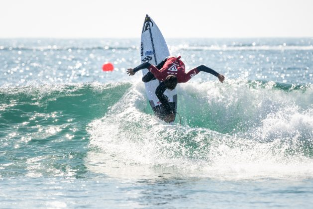 Jackson Bunch, Vissla World Junior Championship 2019, Huntington Beach, Califórnia (EUA). Foto: ISA / Sean Evans.
