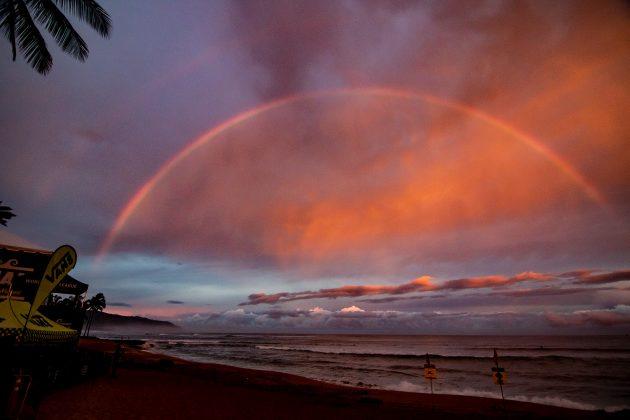 Haleiwa, North Shore de Oahu, Havaí. Foto: WSL / Chlala.