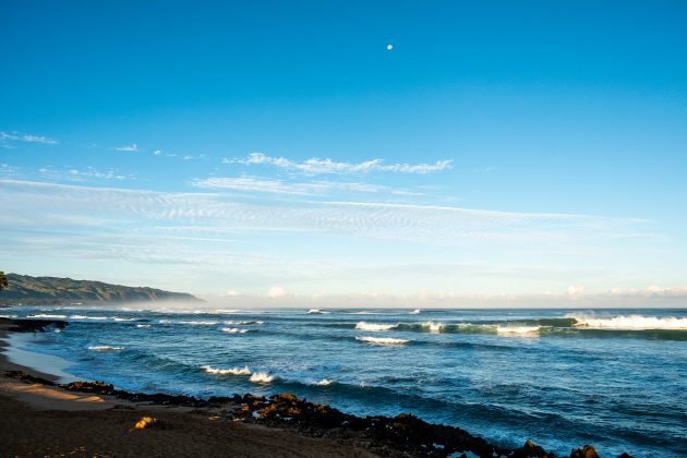 Haleiwa, North Shore de Oahu, Havaí. Foto: WSL / Keoki.