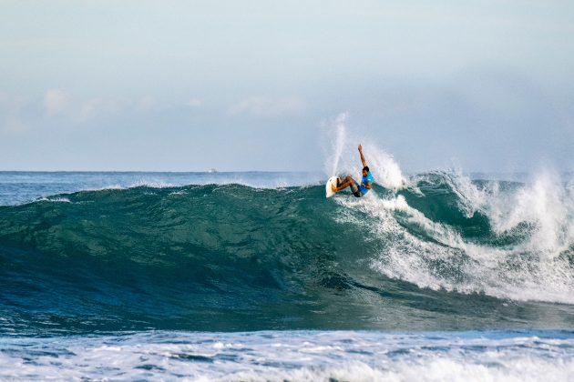 Ian Gentil, North Shore de Oahu, Havaí. Foto: WSL / Keoki.