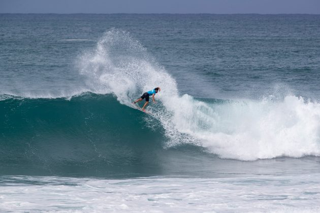 Ian Gouveia, Hawaiian Pro 2019, Haleiwa, North Shore de Oahu, Havaí. Foto: WSL / Heff.