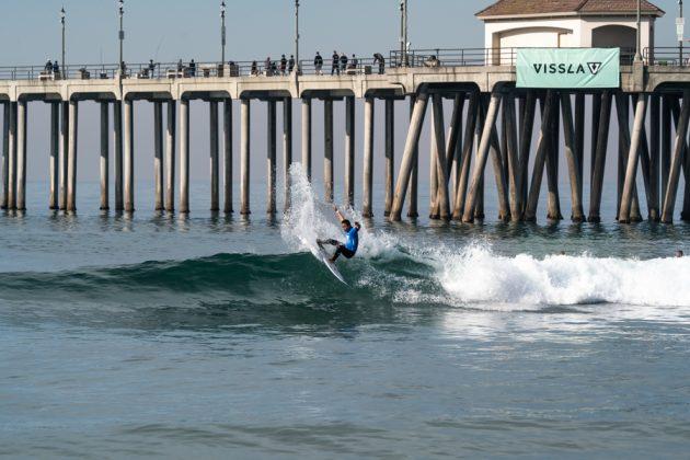 Joh Azuchi, Vissla World Junior Championship 2019, Huntington Beach, Califórnia (EUA). Foto: ISA / Sean Evans.