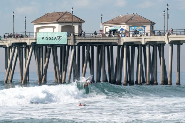 Sara Wakita, Vissla World Junior Championship 2019, Huntington Beach, Califórnia (EUA). Foto: ISA / Sean Evans.