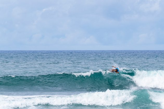 Jordy Maree, North Shore de Oahu, Havaí. Foto: WSL / Keoki.