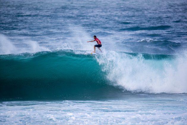 Jordy Smith, Hawaiian Pro 2019, Haleiwa, North Shore de Oahu, Havaí. Foto: WSL / Heff.