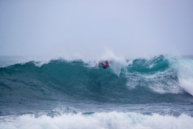 Kelly Slater, Hawaiian Pro 2019, Haleiwa, North Shore de Oahu, Havaí. Foto: WSL / Heff.