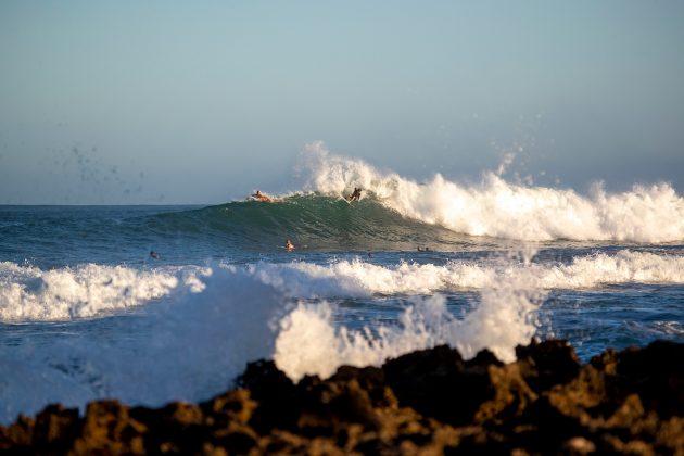 Kiron Jabour, North Shore de Oahu, Havaí. Foto: WSL / Heff.
