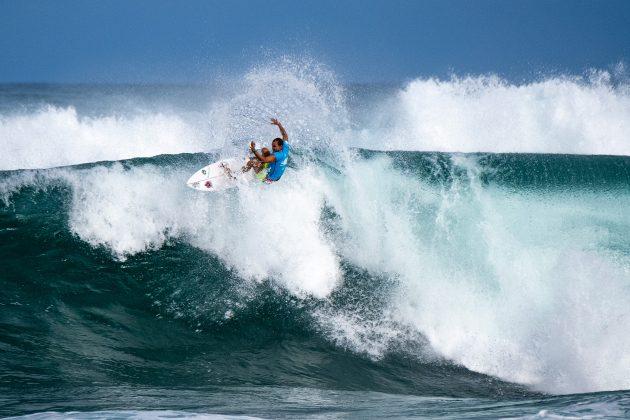 Luel Felipe, Hawaiian Pro 2019, Haleiwa, North Shore de Oahu, Havaí. Foto: WSL / Keoki.