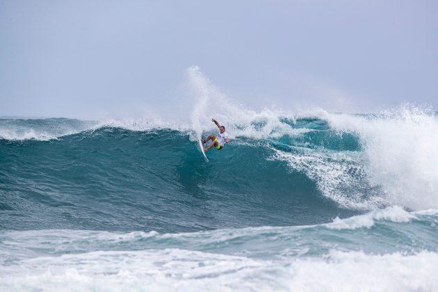 Luel Felipe, Hawaiian Pro 2019, Haleiwa, North Shore de Oahu, Havaí. Foto: WSL / Heff.