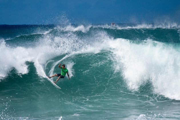 Matt Banting, Hawaiian Pro 2019, Haleiwa, North Shore de Oahu, Havaí. Foto: WSL / Keoki.