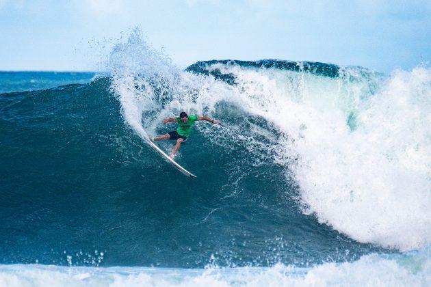 Michael Dunphy, North Shore de Oahu, Havaí. Foto: WSL / Keoki.