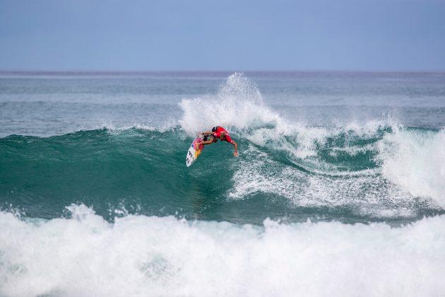 Miguel Tudela, North Shore de Oahu, Havaí. Foto: WSL / Heff.
