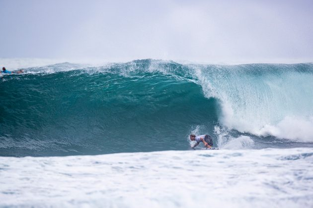 Mitch Crews, Hawaiian Pro 2019, Haleiwa, North Shore de Oahu, Havaí. Foto: WSL / Heff.