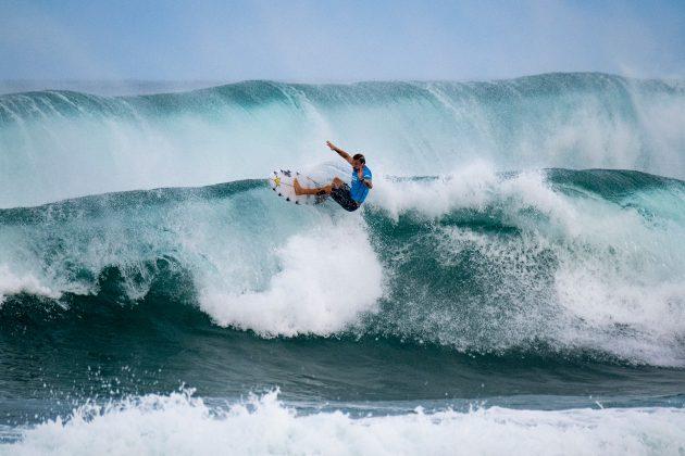 Mitch Crews, Hawaiian Pro 2019, Haleiwa, North Shore de Oahu, Havaí. Foto: WSL / Keoki.