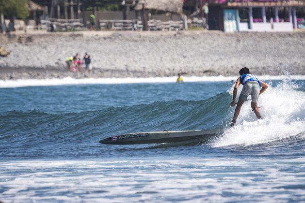 Max Torres, ISA SUP & Paddleboard 2019, El Sunzal, El Salvador. Foto: ISA / Ben Reed.