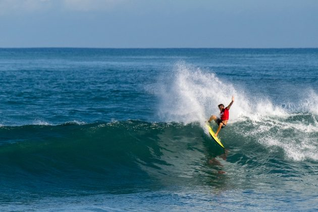 Patrick Gudauskas, North Shore de Oahu, Havaí. Foto: WSL / Keoki.
