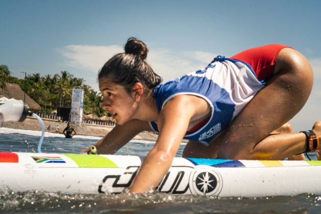 Tyra Buncombe, ISA SUP & Paddleboard 2019, El Sunzal, El Salvador. Foto: ISA / Evans.