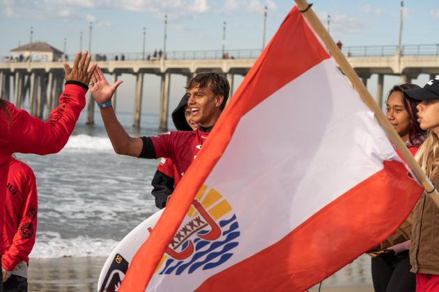 Kauli Vaast, Vissla World Junior Championship 2019, Huntington Beach, Califórnia (EUA). Foto: ISA / Sean Evans.