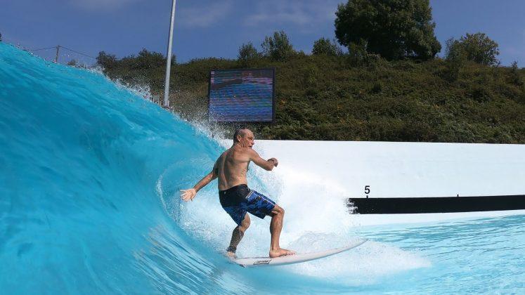 Tom Carroll, Wavegarden, País Basco, Espanha. Foto: Divulgação.