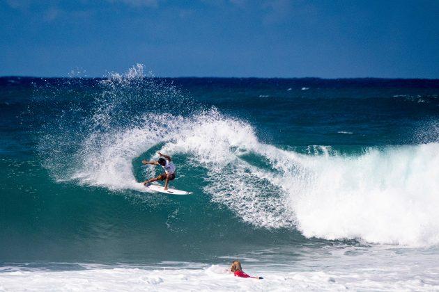 Tomas Hermes, Hawaiian Pro 2019, Haleiwa, North Shore de Oahu, Havaí. Foto: WSL / Keoki.
