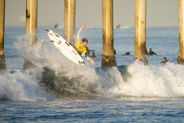 Taj Lindblad, Vissla World Junior Championship 2019, Huntington Beach, Califórnia (EUA). Foto: ISA / Ben Reed.