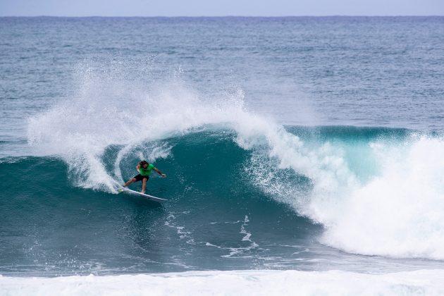 Wade Carmichael, Hawaiian Pro 2019, Haleiwa, North Shore de Oahu, Havaí. Foto: WSL / Heff.
