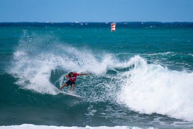 Wade Carmichael2, Hawaiian Pro 2019, Haleiwa, North Shore de Oahu, Havaí. Foto: WSL / Keoki.
