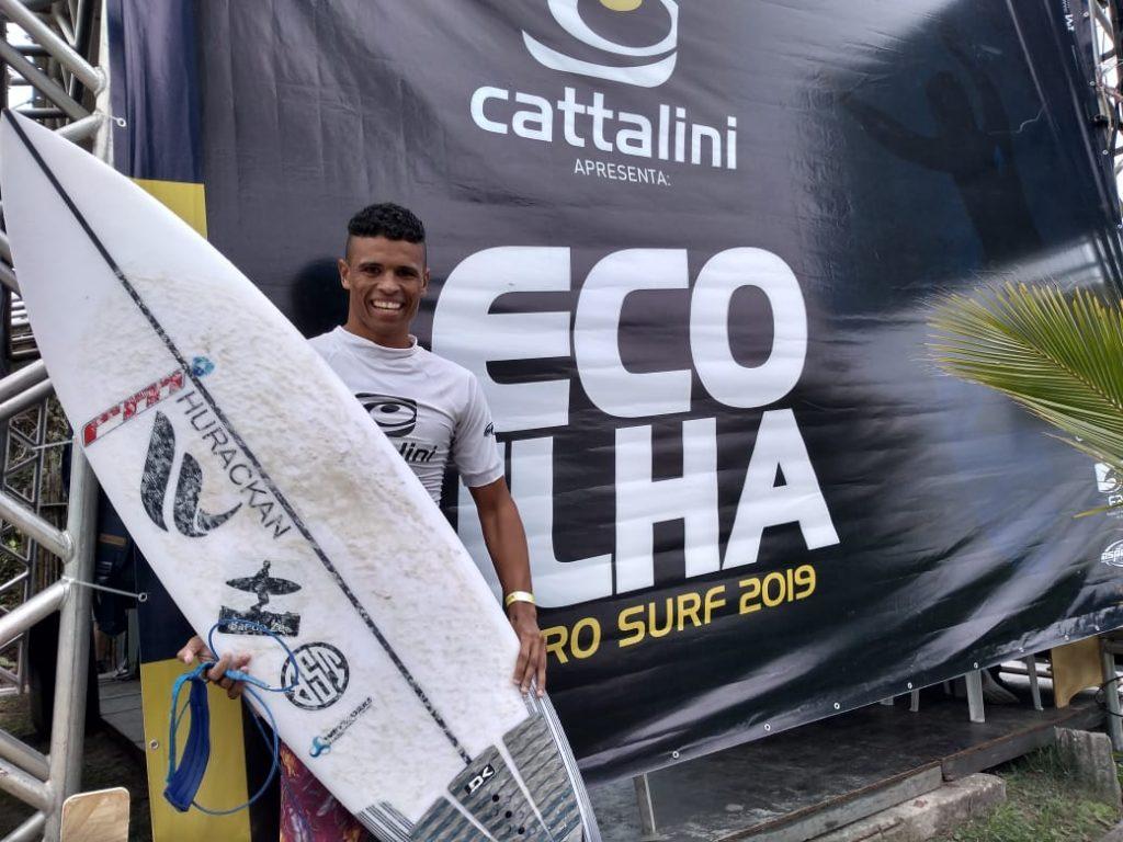 José Eduardo na prova da Praia de Fora, Ilha do Mel (PR).