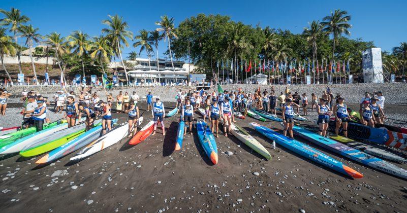 ISA SUP & Paddleboard 2019, El Sunzal, El Salvador. Foto: ISA / Evans.