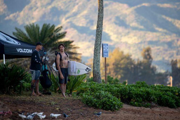 Yago Dora, North Shore de Oahu, Havaí. Foto: WSL / Heff.