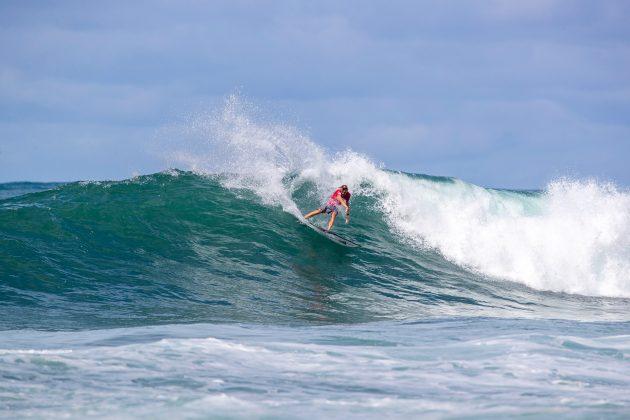 Gatien Delahaye, North Shore de Oahu, Havaí. Foto: WSL / Heff.