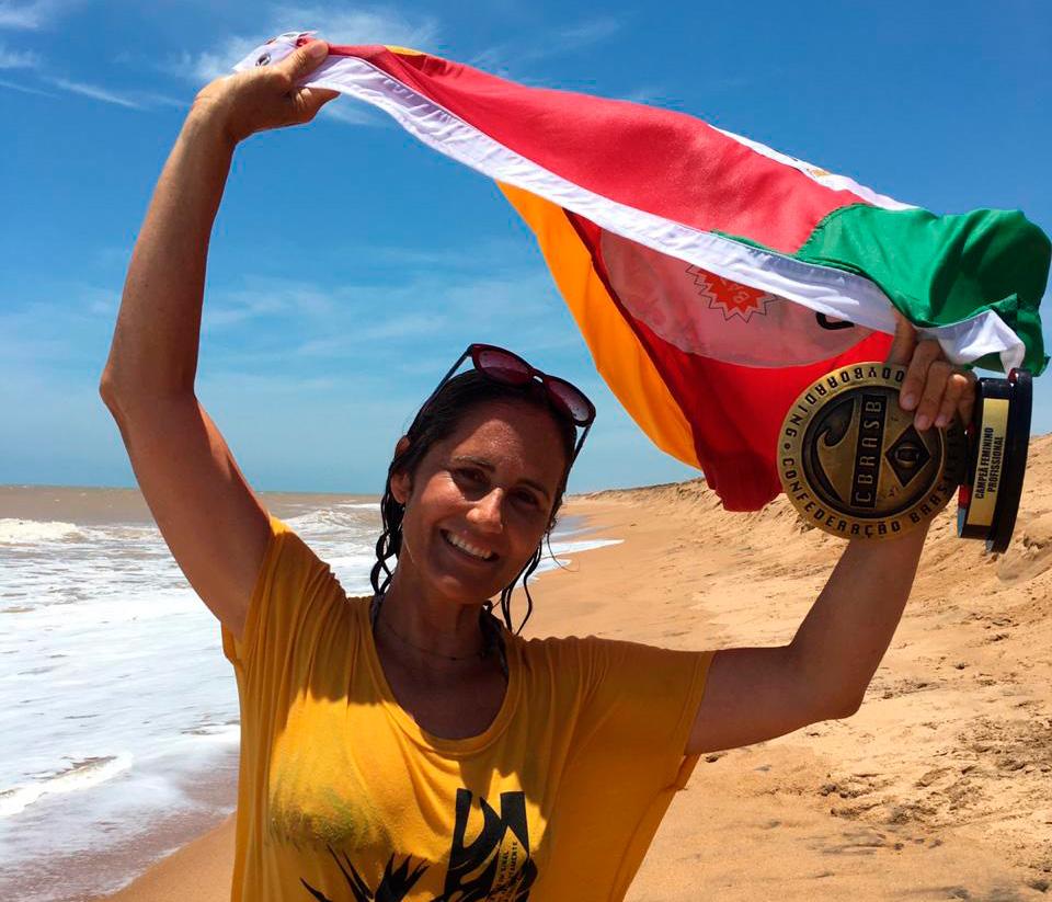 Joselaine Amorim leva o título nacional para o Rio Grande do Sul.