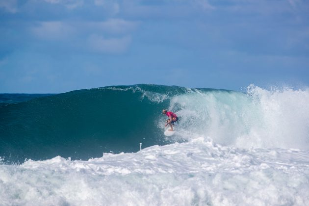 Charly Martin, North Shore de Oahu, Havaí. Foto: WSL / Heff.