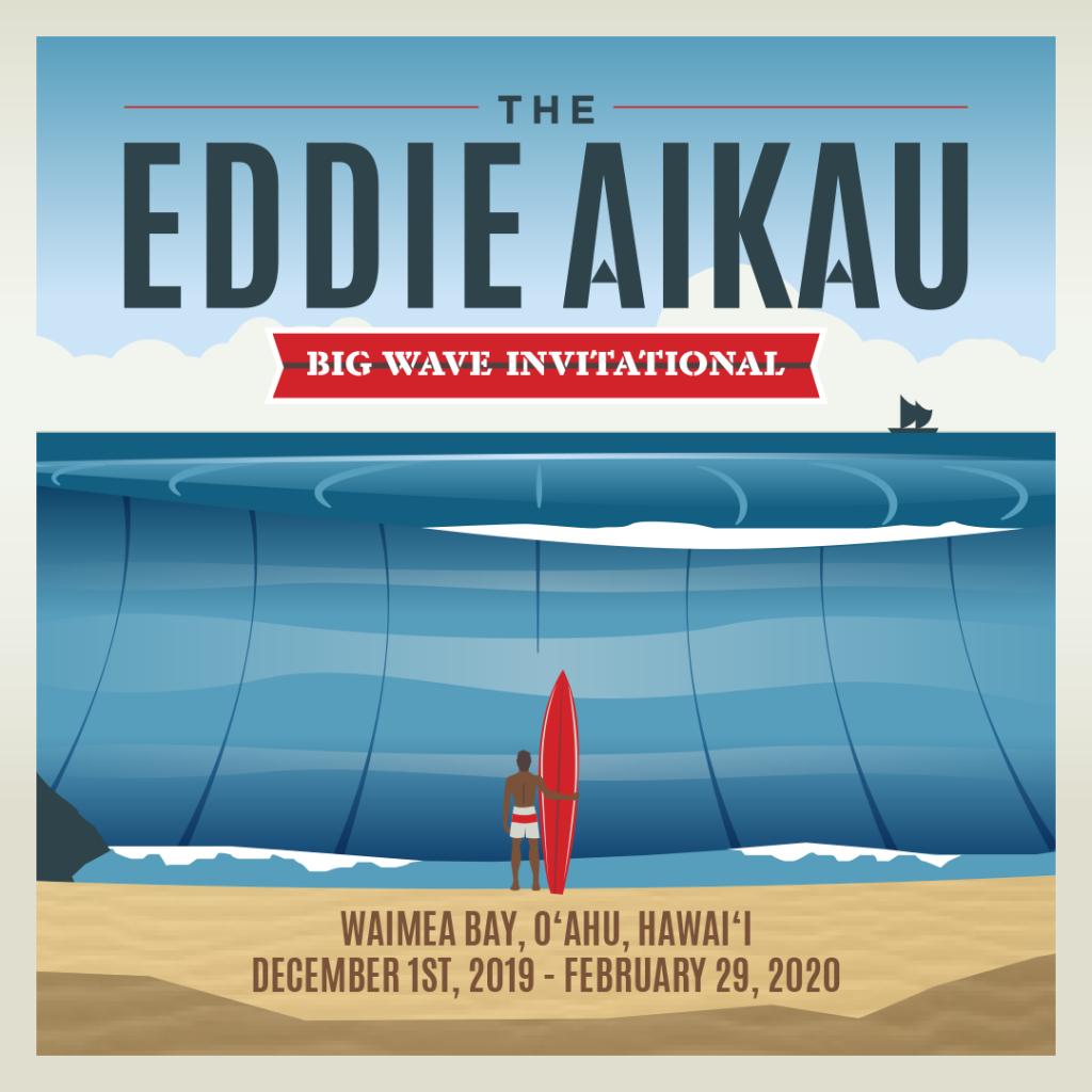 Cartaz do The Eddie Aikau Big Wave Invitational.