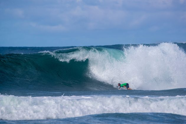 Leandro Usuna, North Shore de Oahu, Havaí. Foto: WSL / Heff.
