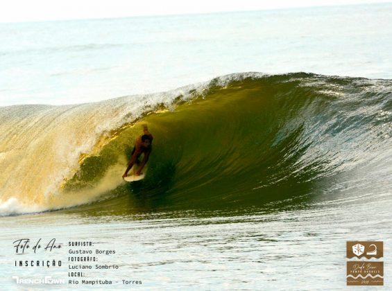Gustavo Borges, Rio Mampituba, Torres (RS). Foto: Luciano Sombrio.
