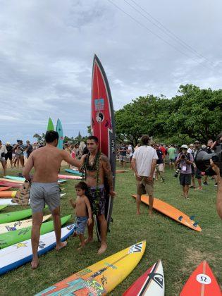 Billy Kemper, The Eddie Aikau Invitational 2019, Waimea Bay, North Shore de Oahu, Havaí. Foto: Fernando Iesca.