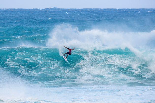 Michel Bourez, Vans World Cup of Surfing, Sunset, North Shore de Oahu, Havaí. Foto: WSL / Keoki.
