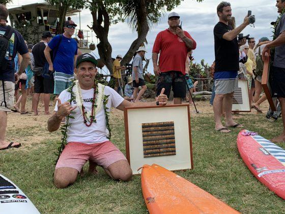 Danilo Couto, The Eddie Aikau Invitational 2019, Waimea Bay, North Shore de Oahu, Havaí. Foto: Fernando Iesca.