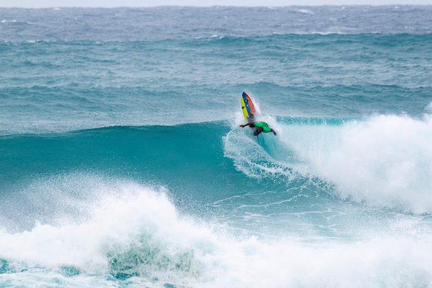 Weslley Dantas, Vans World Cup of Surfing, Sunset, North Shore de Oahu, Havaí. Foto: WSL / Keoki.