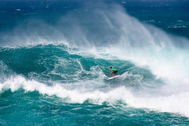 Gatien Delahaye, Vans World Cup of Surfing, Sunset, North Shore de Oahu, Havaí. Foto: WSL / Keoki.