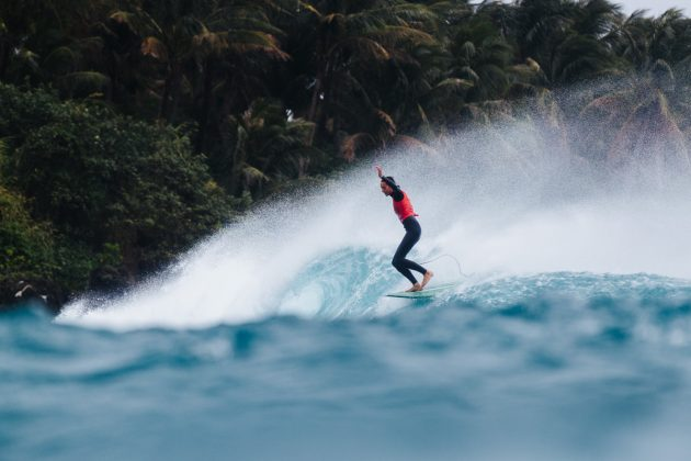 Honolua Blomfield, Taiwan Open World Longboard Champs 2019, Jinzun Harbor. Foto: WSL / Dunbar.