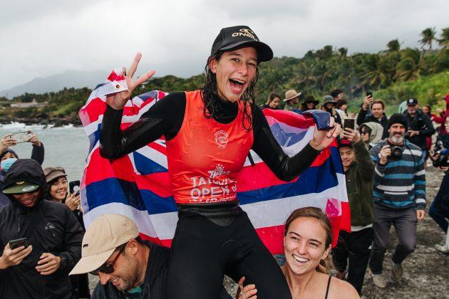 Honolua Blomfield, Taiwan Open World Longboard Champs 2019, Jinzun Harbor. Foto: WSL / Dunbar.