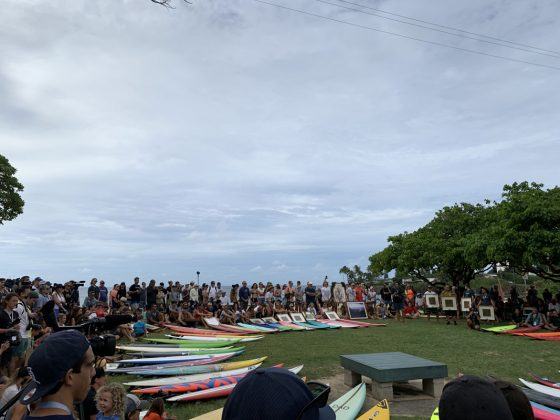 The Eddie Aikau Invitational 2019, Waimea Bay, North Shore de Oahu, Havaí. Foto: Fernando Iesca.