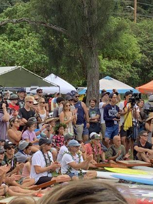 The Eddie Aikau Invitational 2019, Waimea Bay, North Shore de Oahu, Havaí. Foto: Fernando Iesca.