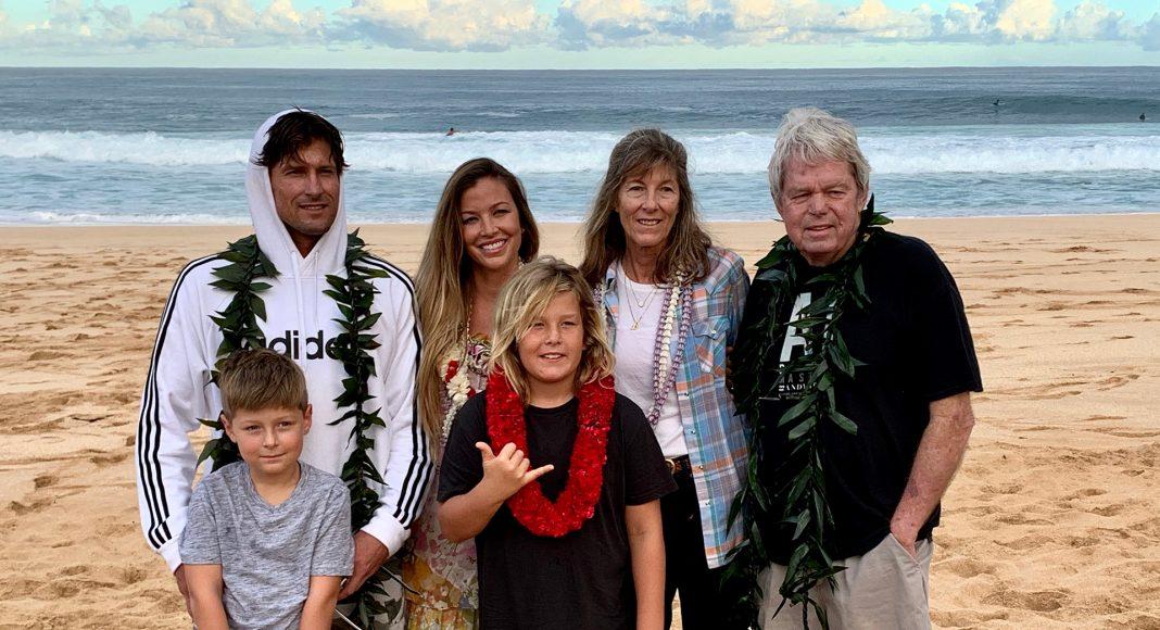 Família Irons, Billabong Pipe Masters 2019, North Shore de Oahu, Havaí. Foto: Fernando Iesca.