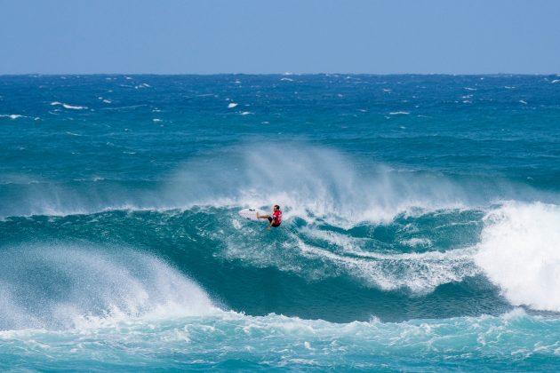 Caio Ibelli, Vans World Cup of Surfing, Sunset, North Shore de Oahu, Havaí. Foto: WSL / Keoki.