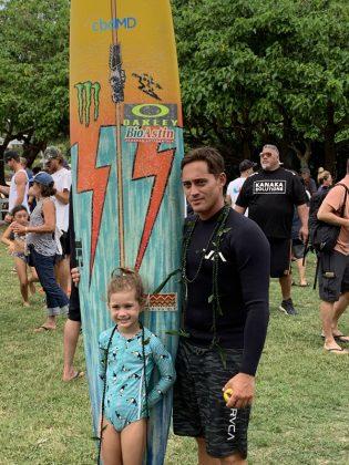 Makuakai Rothman, The Eddie Aikau Invitational 2019, Waimea Bay, North Shore de Oahu, Havaí. Foto: Fernando Iesca.